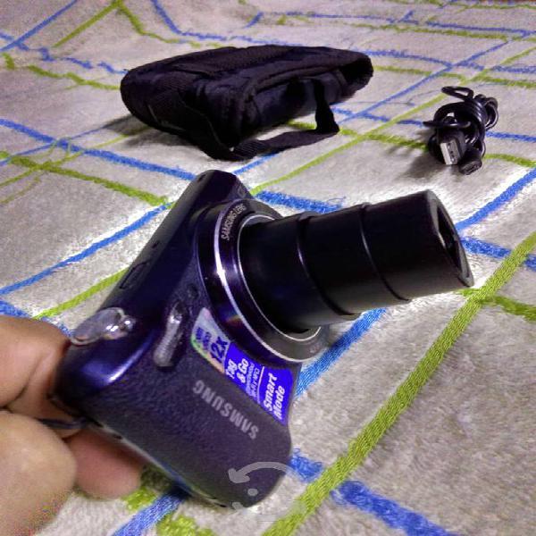 Camara samsung 12x modelo wb35f con wifi funda usb