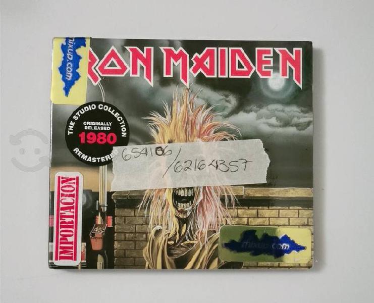 Cd nuevo iron maiden - sellado