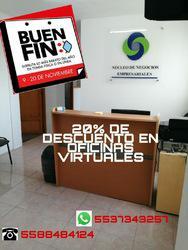 Contamos con la renta de oficinas virtuales a un buen precio