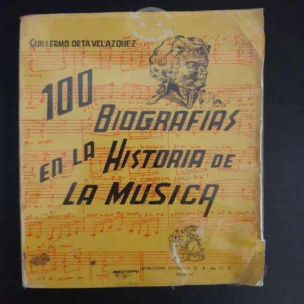 Libro - 100 biografías en la historia de la música