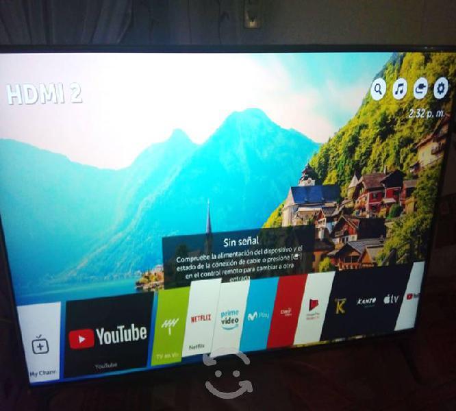 Pantalla 55 lg 4k smart tv led