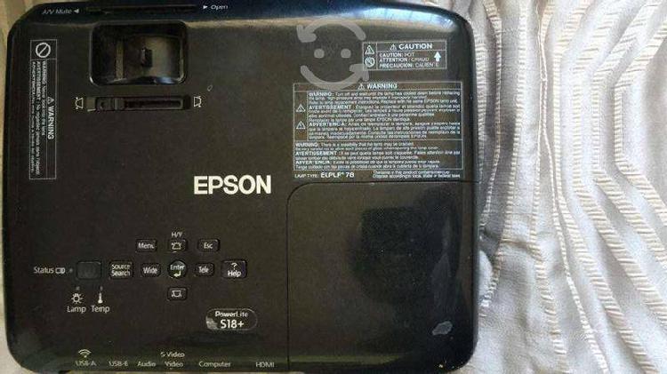 Proyector epson modelo: h552a