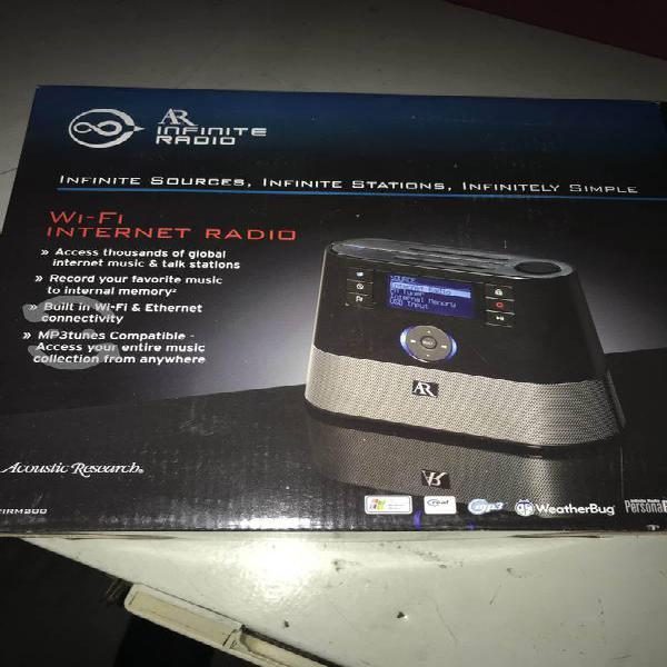 Radio internet, fm, sw, etc