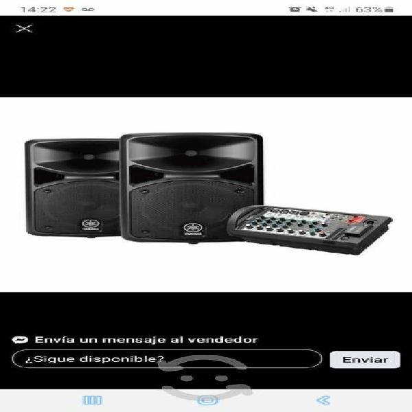 Sistema de audio yamaha