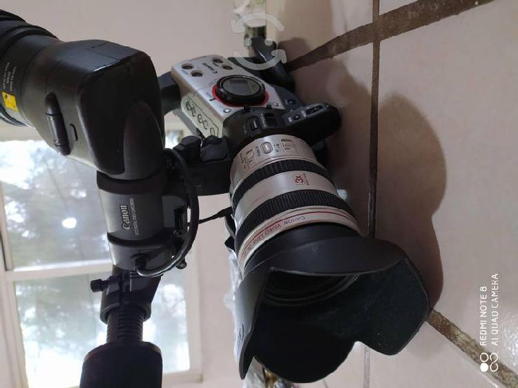 Venta 2 cámaras en paquete canon pro