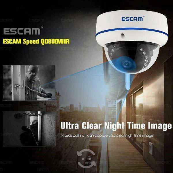 Wifi cámara ip impermeable día / noche