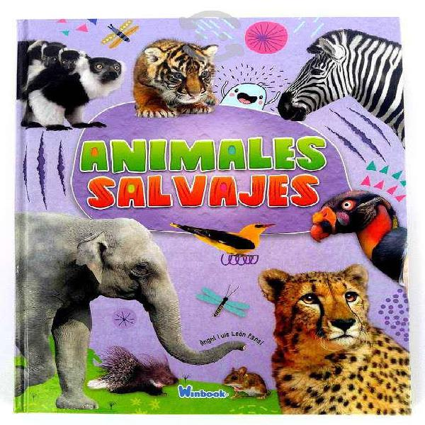 Animales salvajes angel luis winbook zebra elefant