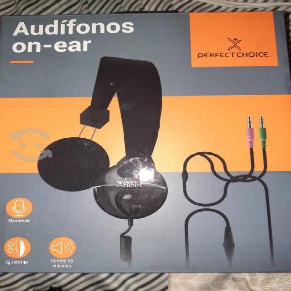 Audífonos on ear perfect choise