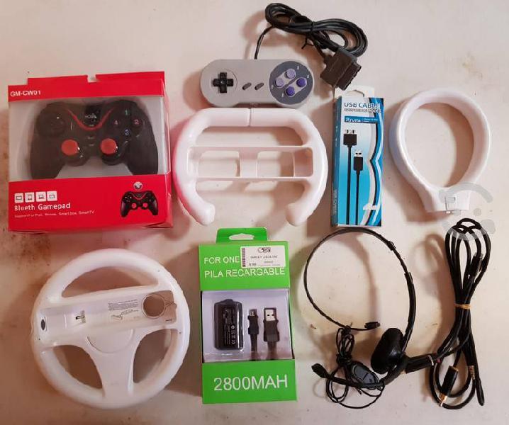 Accesorios para video juegos