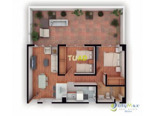 Garden house en venta ubicado colonia mariano escobedo