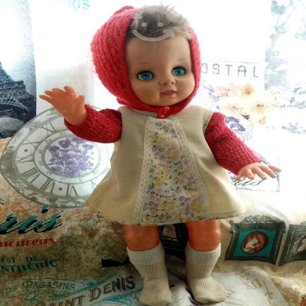 Muñeca vintage marca elizabeth 70's