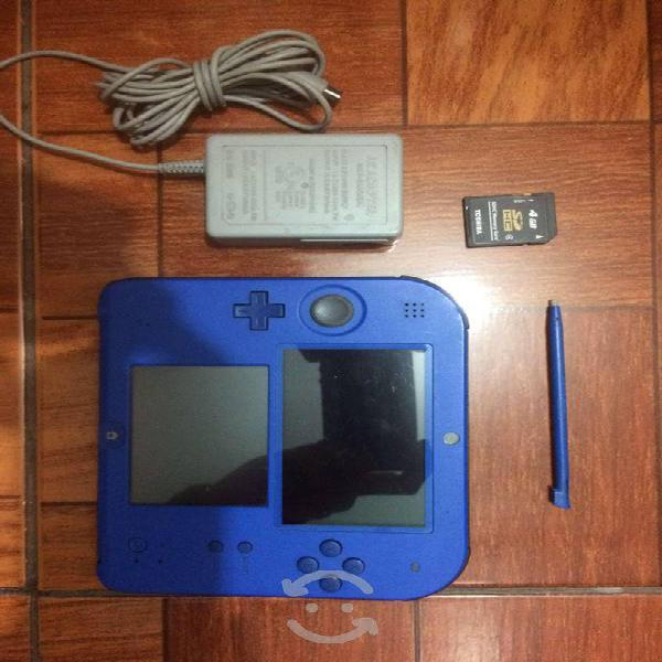 Nintendo 2ds 4 gb 3 juegos digitales