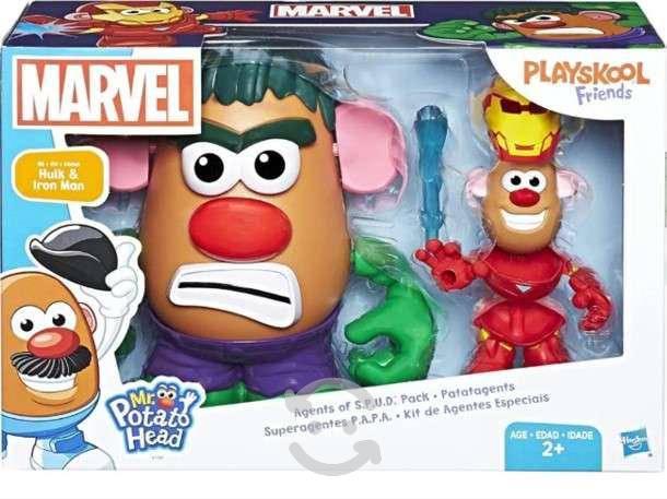 Superagentes p.a.p.a hulk & ironman