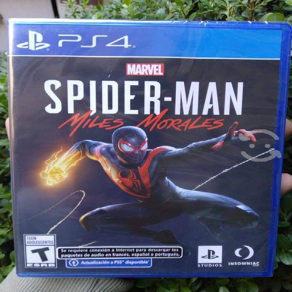 Spiderman miles morales nuevo