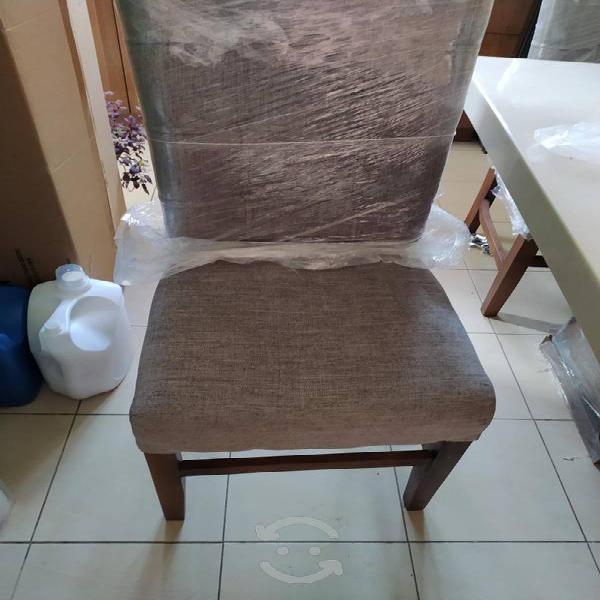 Comedor 6 sillas, marmol procesado