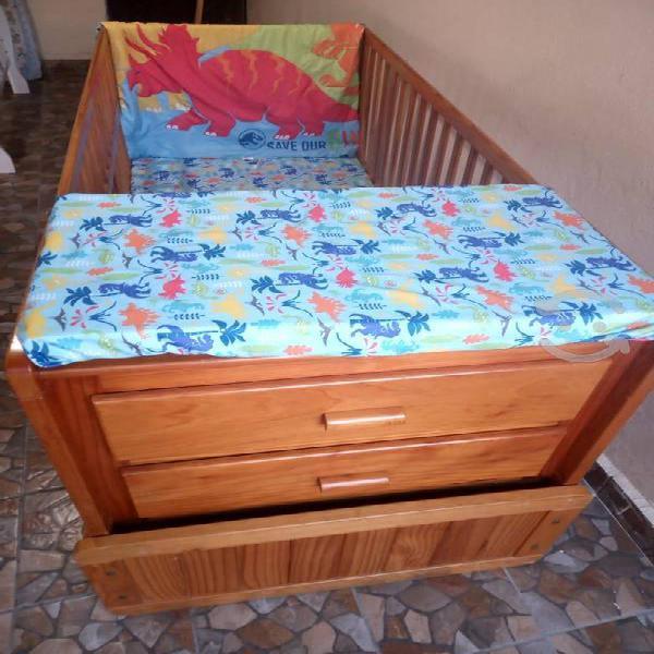 Cuna cama individual