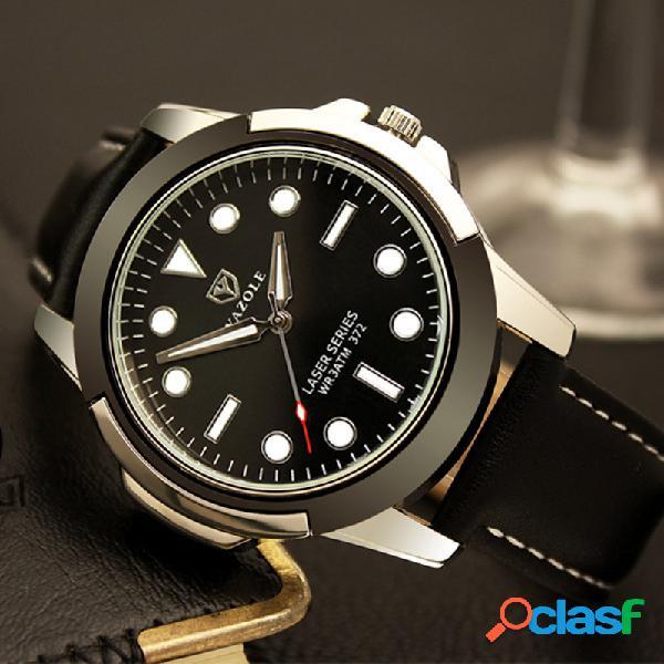 Reloj deportivo luminoso para hombre impermeable reloj de cintura con esfera verde para hombres
