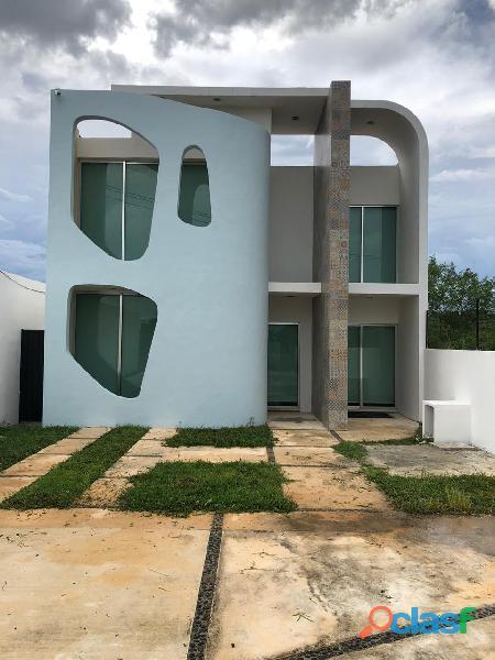 Hermosa casa minimalita con diseño único en renta