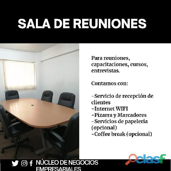 Sala de reuniones con Servicios