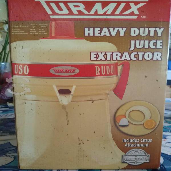 Extractor de jugos uso rudo