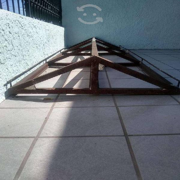 Marquesina estructura