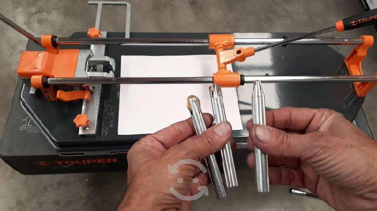 Truper caz-75xm2 cortador de azulejo con baleros,