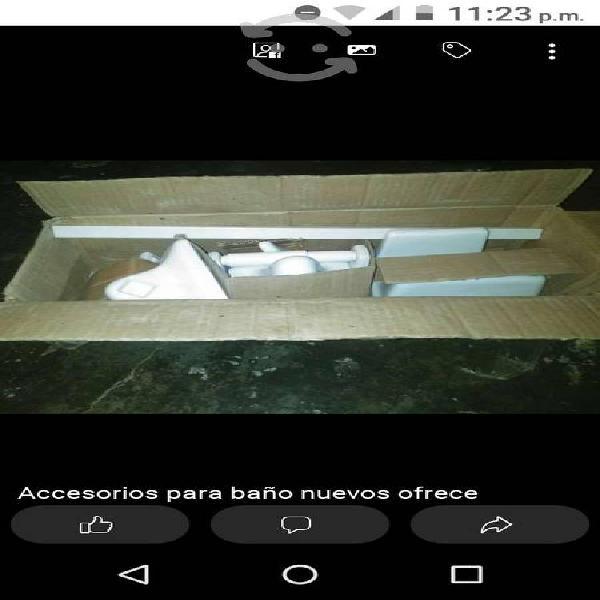 Accesorios para baño nuevos