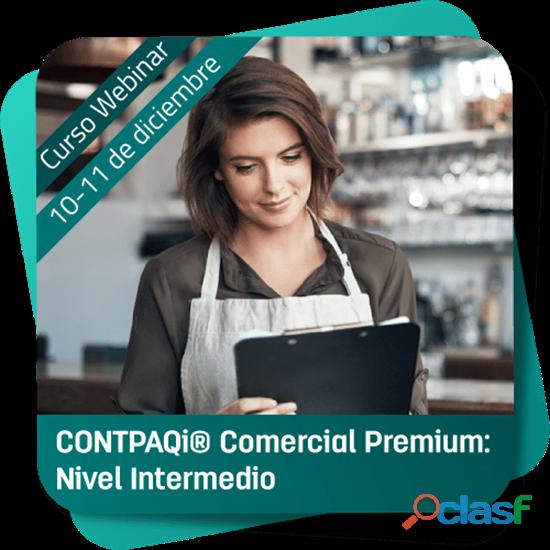 Curso Webinar: CONTPAQi Comercial Premium (Nivel Intermedio)