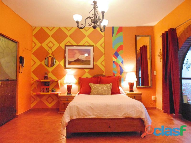 Hermosa suite con terraza