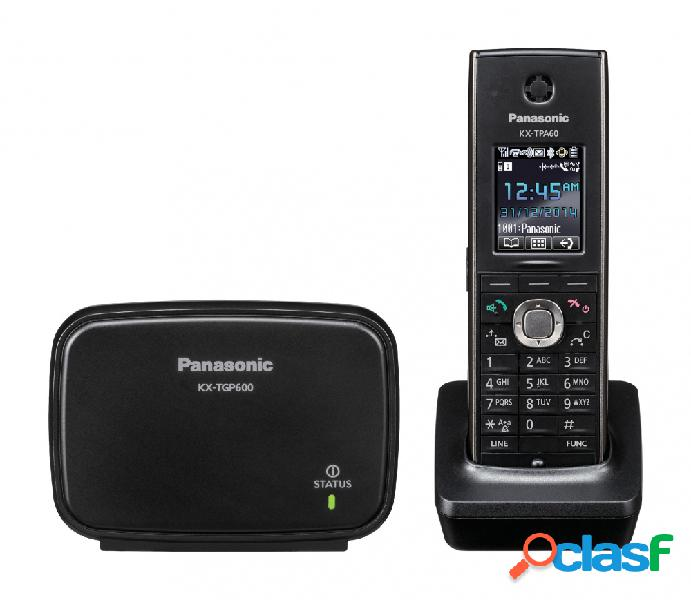 Panasonic teléfono inalámbrico kx-tgp600, altavoz, negro