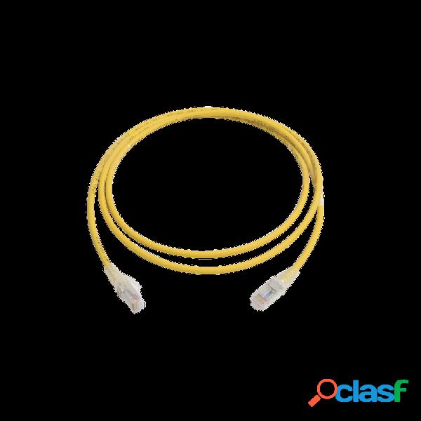 Siemon cable patch cat6 utp rj-45 macho - rj-45 macho, 1.5 metros, amarillo