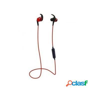 Brobotix audífonos intrauriculares con micrófono tf2, inalámbrico, bluetooth, rojo
