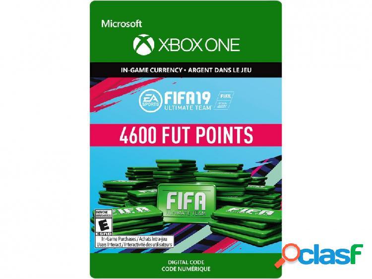 Fifa 19 ultimate team, 4600 puntos, xbox one - producto digital descargable