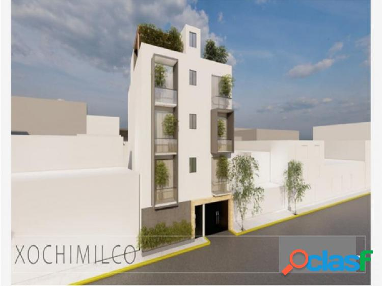 Departamento, loft o roof garden en xochimilco