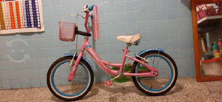 Bicicleta little princess