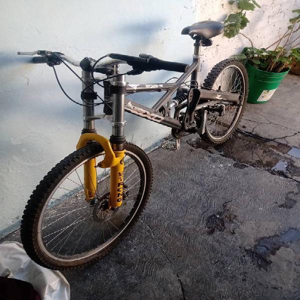 """Bicicleta montaña axo 26"""" aluminio"""