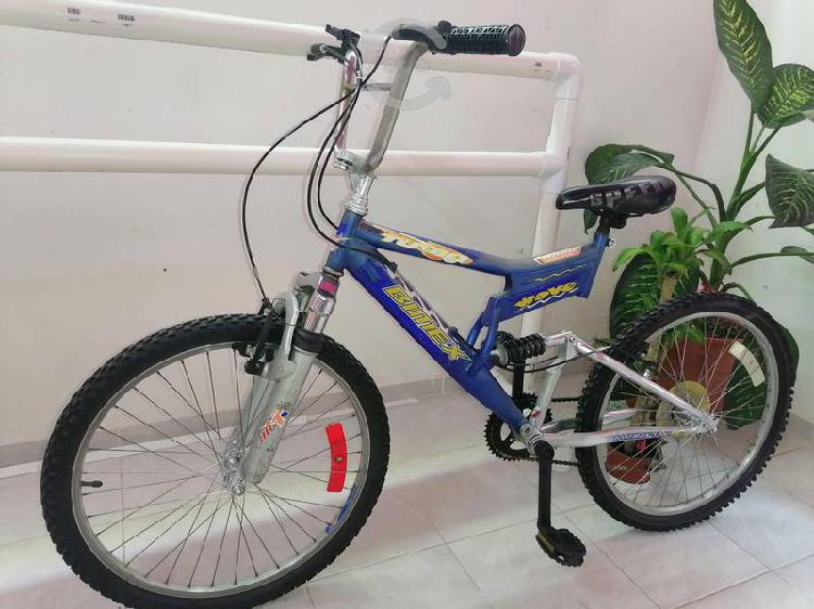 Bicicleta r24 doble suspensión