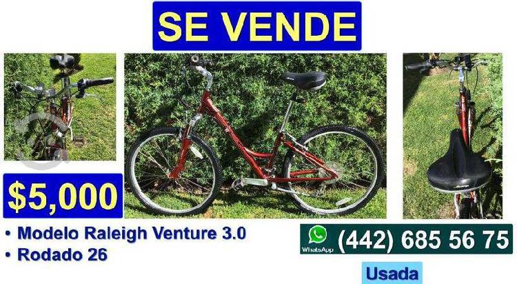 Bicicleta raleigh venture 3.0