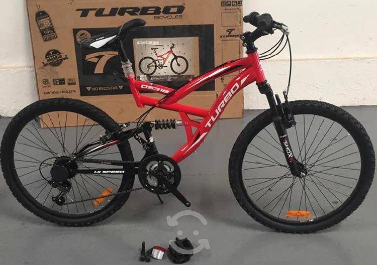 Bicicleta turbo ds318 r24