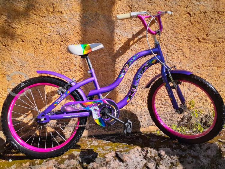 Bicicleta para niña, rodada 20 precio a tratar