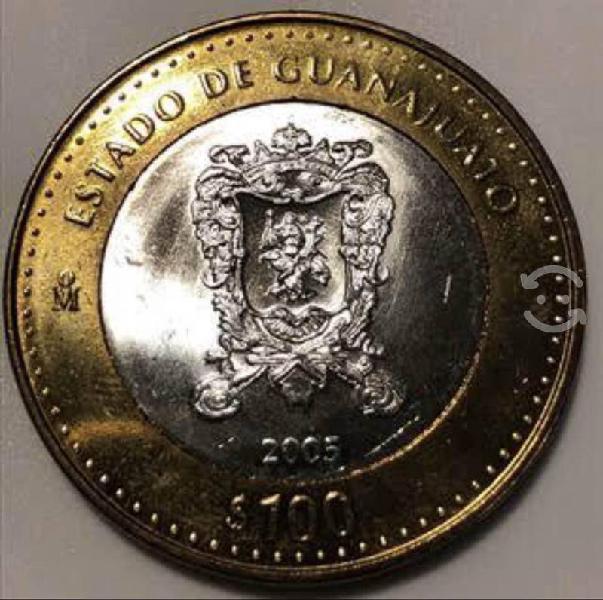 Colección baco de méxico moneda conmemorativa 100