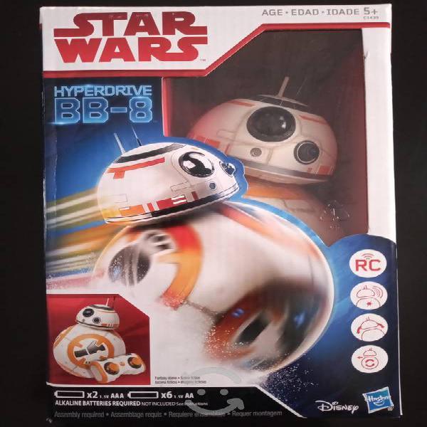 Juguete star wars hyperdrive bb-8