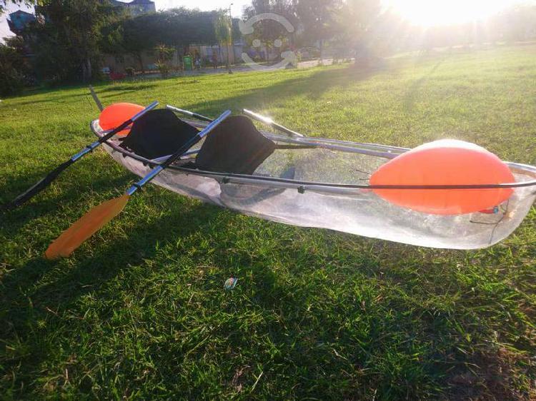 Kayak , lancha, canoa, transparente