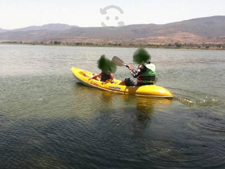 Kayak de fibra de vidrio