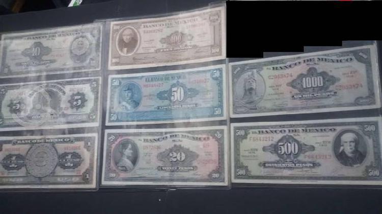 Lote dólares mexicanos