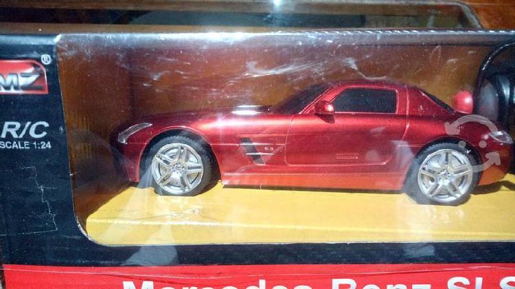 Mercedes benz sls rojo