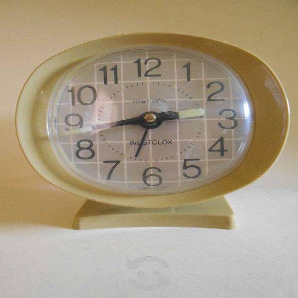 Precioso despertador westclox baby ben de 1990