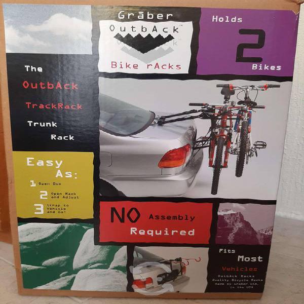 Rack porta bicicletas cajuela universal