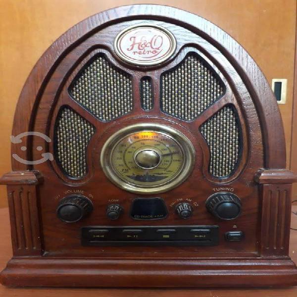 Radio antigua (marca hq)