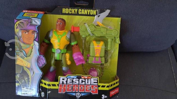 Rescues heroes rocky canyon figura de acción